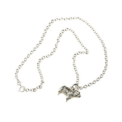 Exmoor Horn Sheep Sterling Silver Pendant