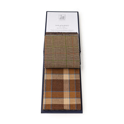 Chestnut Madras Check