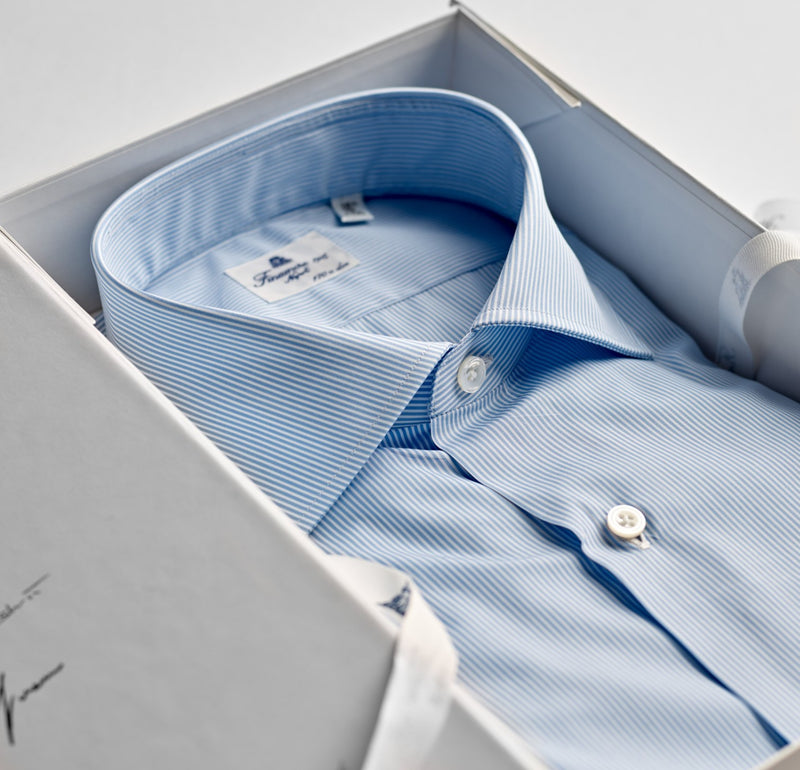 Finamore Striped Dress Shirt
