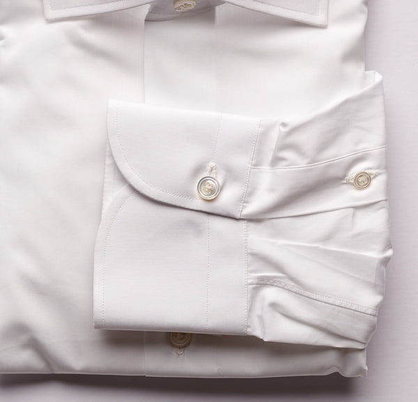 Finamore White Dress Shirt