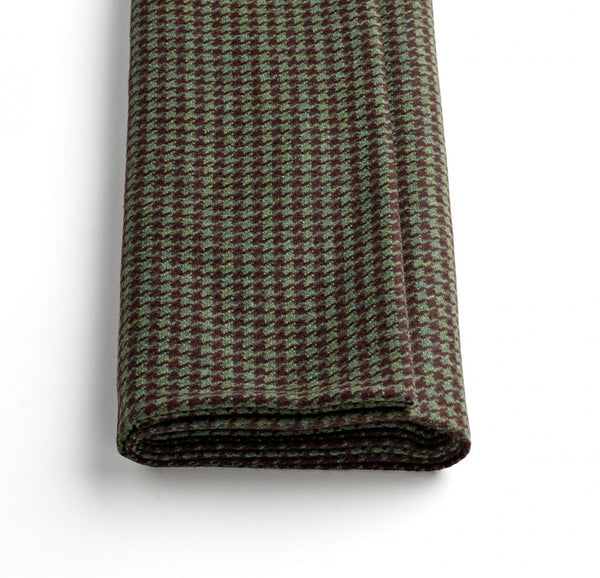 Forest Green Houndstooth Jacketing