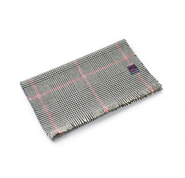 Fox Brothers Classic Glen Check Scarf