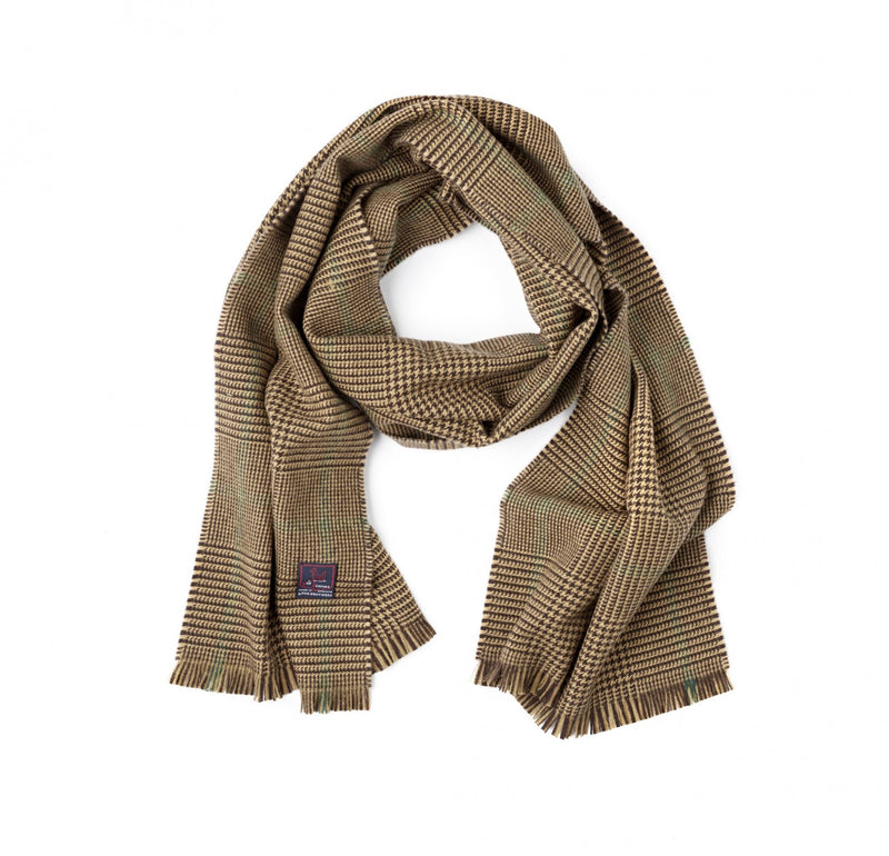 Fox Brothers Hazel Glen Check Scarf