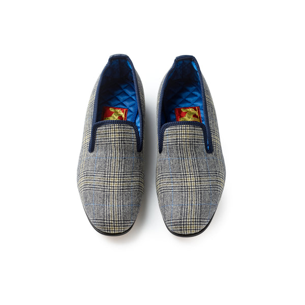 Fox Houndsmore Check Albert Slippers