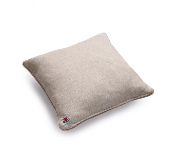 Fox Diamond Weave Cushion in Soft Grey