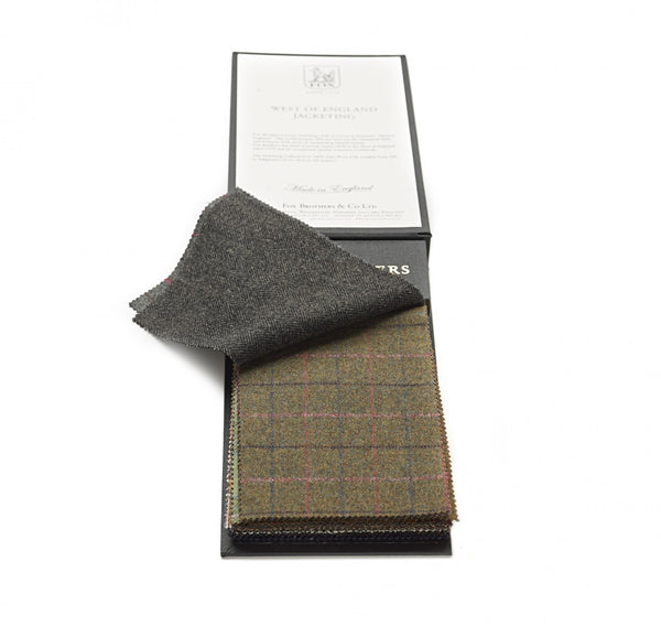 Fox Moss Tweed Jacketing
