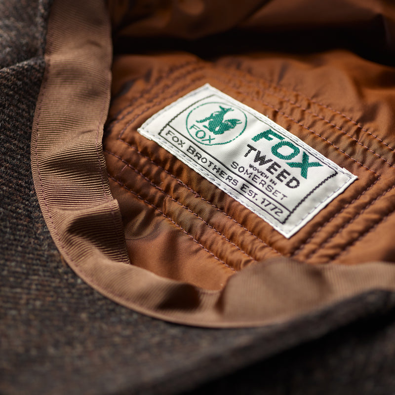 Luxury-Fox-Tweed-Cupro-lined-30's-8-panel-cap