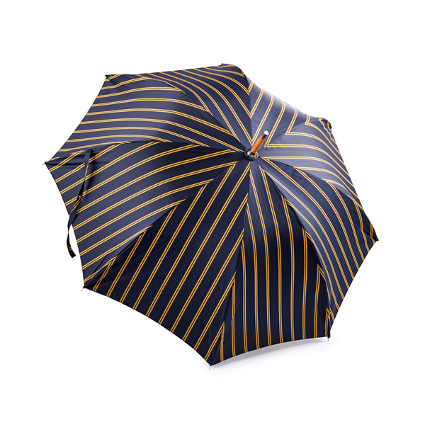 Francesco Maglia Navy and Yellow Double Strip Umbrella