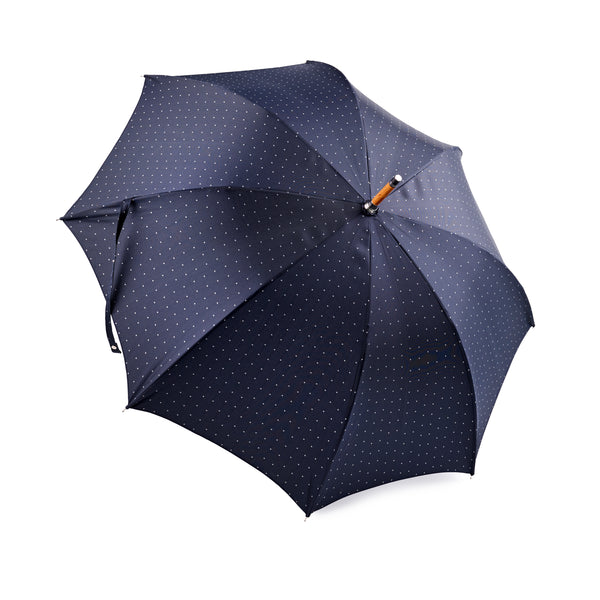 Francesco Maglia Navy with Grey Polka Dot Umbrella