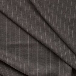 Golden Fox Wide Dark Mid Grey Pinstripe