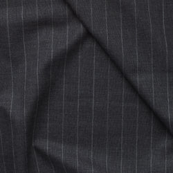 Golden Fox Extra Wide Charcoal Pinstripe