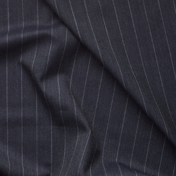 Golden Fox Extra Wide Char Navy Pinstripe