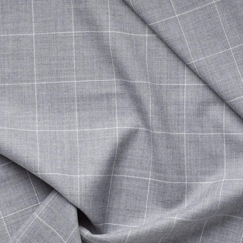 Golden Fox Grey Windowpane