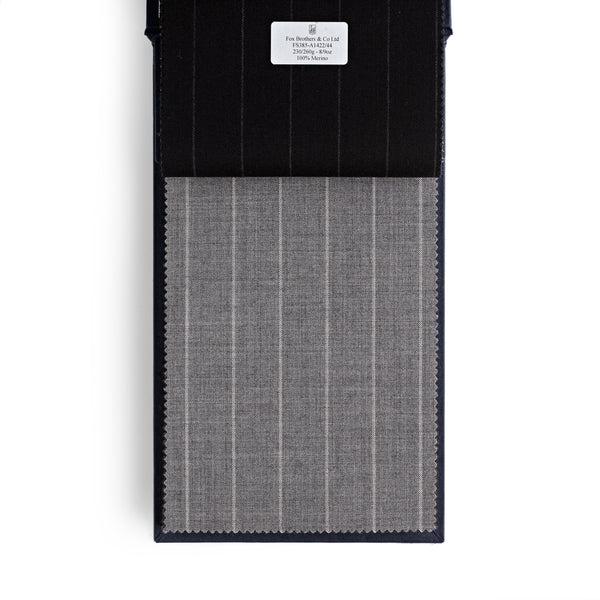 Golden Fox Extra Wide Grey Pinstripe