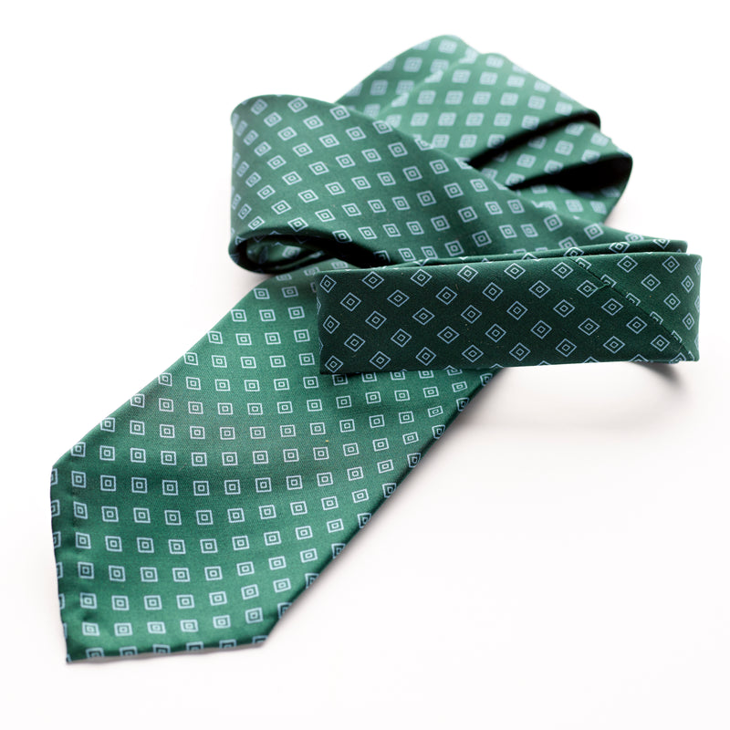 Petronius 1926 Racing Green Vintage Silk Tie