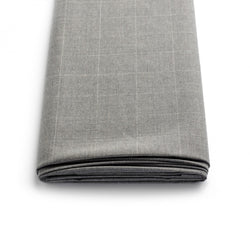 Grey Pindot Windowpane