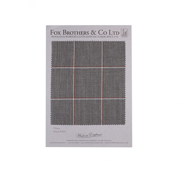 Grey Worsted Windowpane