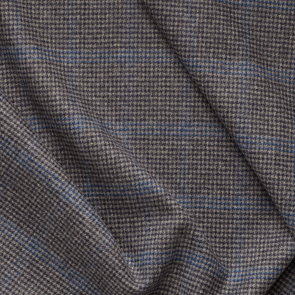 Houndstooth Windowpane Check Flannel