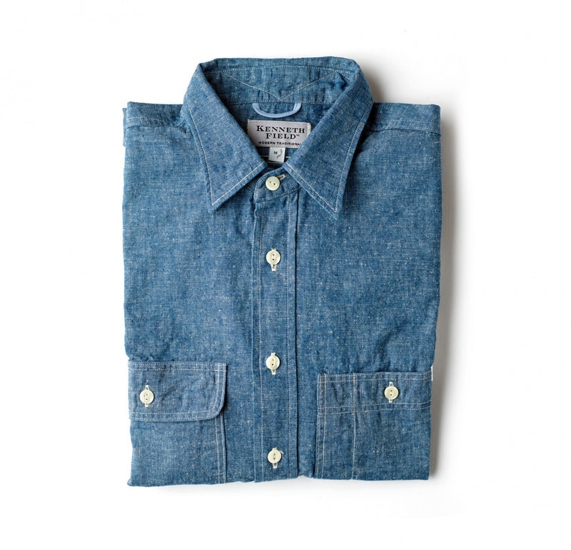Kenneth Field Chambray Work Shirt