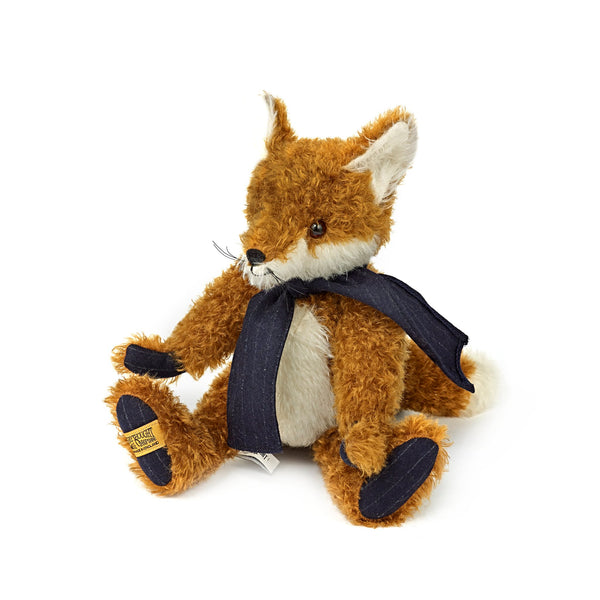 Mr Fox with Chalk Stripe Scarf