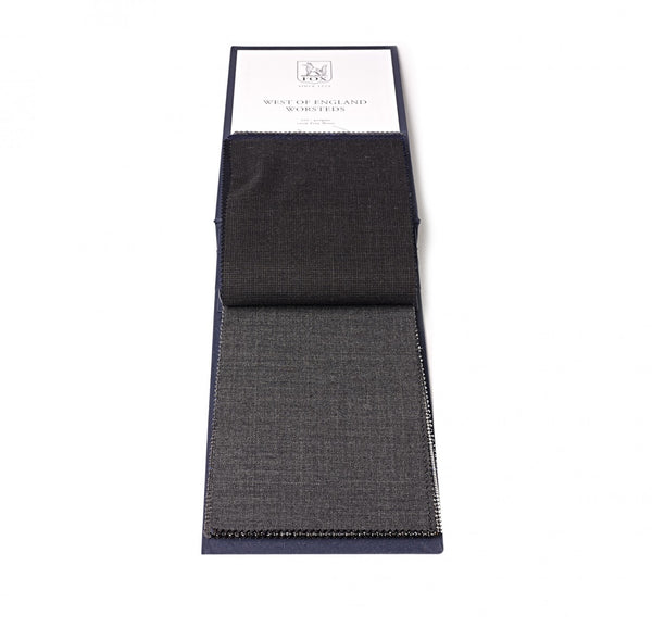 Oxford Grey Sharkskin