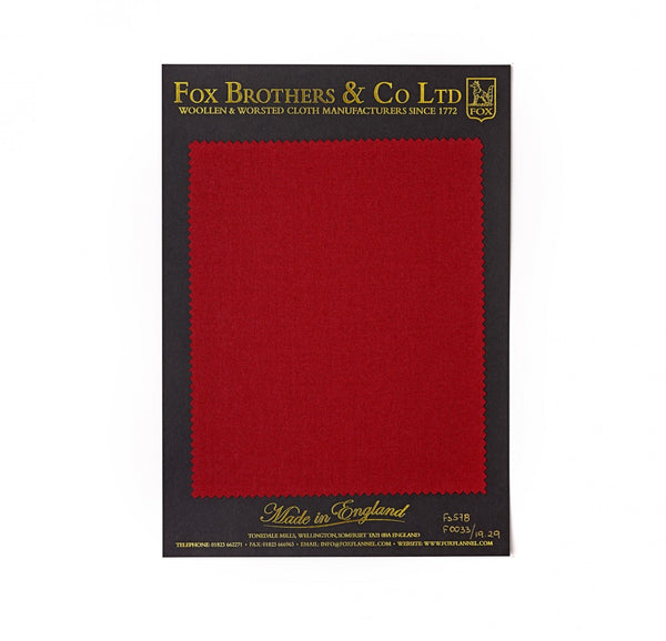 Queen's Award Berry Red Flannel
