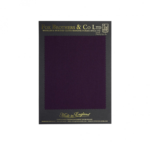 Queen's Award Plum Flannel