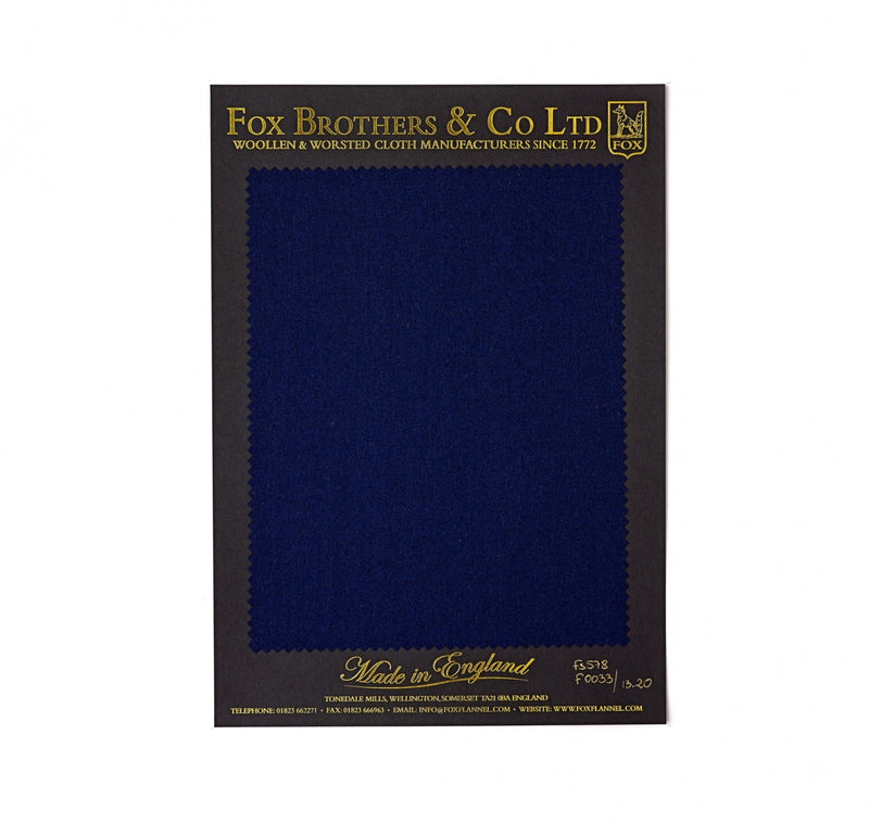 Queen's Award Rich Navy Flannel
