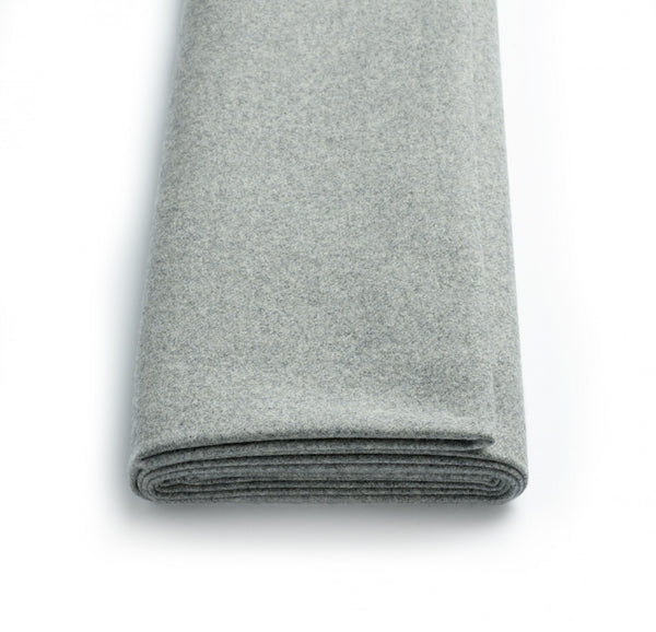 Soft Grey Mayfair Flannel