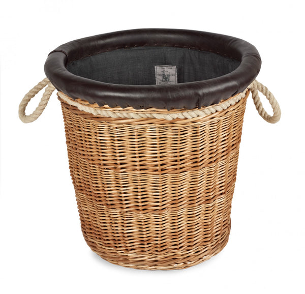 Somerset Willow Round Log Basket