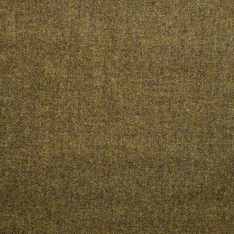 Moss Green Herringbone Tweed