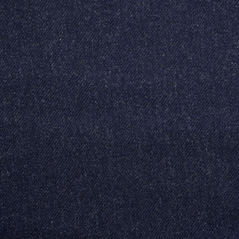 Char-Navy Twill Tweed