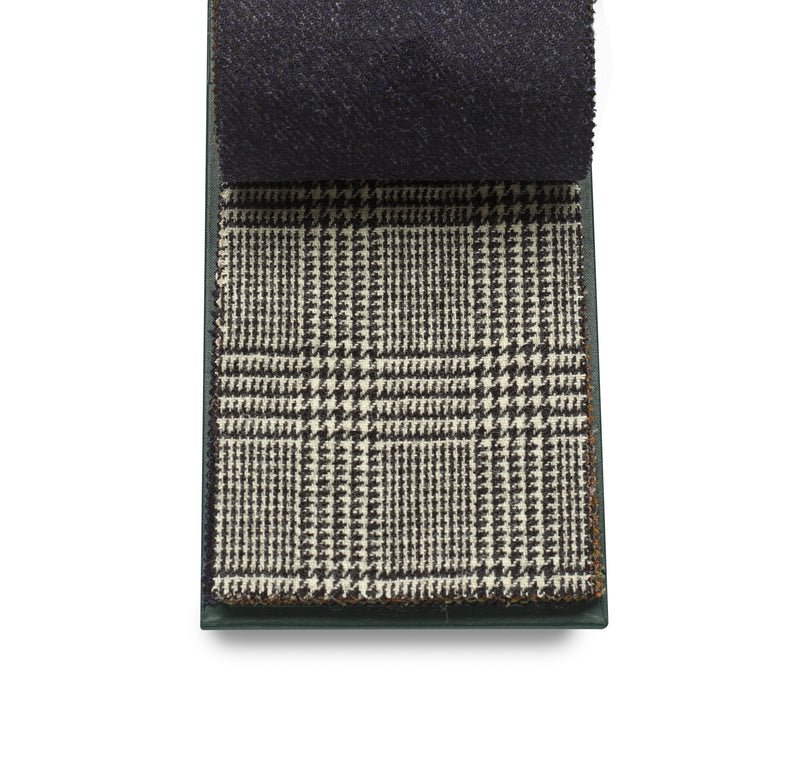 100% Wool Luxury Fox Tweed Cloth, Classic Prince of Wales.