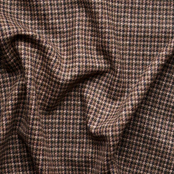 Tonal Brown & Pink Houndstooth