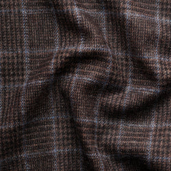 Walnut Glen Check Tweed with a Pale Blue Deco