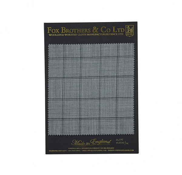 The Char Blue Budville Check