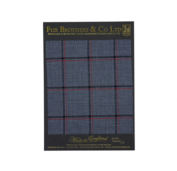 The Char Blue Double Windowpane