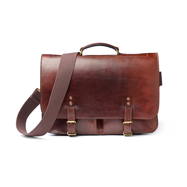 The Dart Oak Bark Tanned Leather Bag