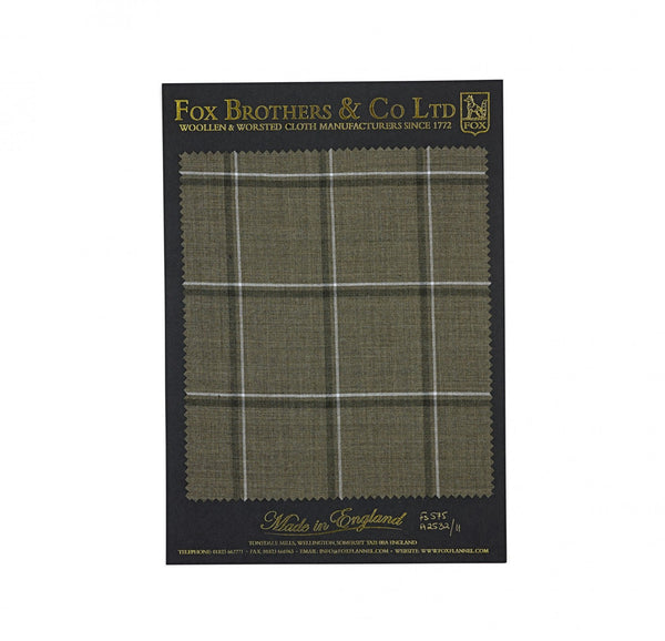 The Khaki Double Windowpane