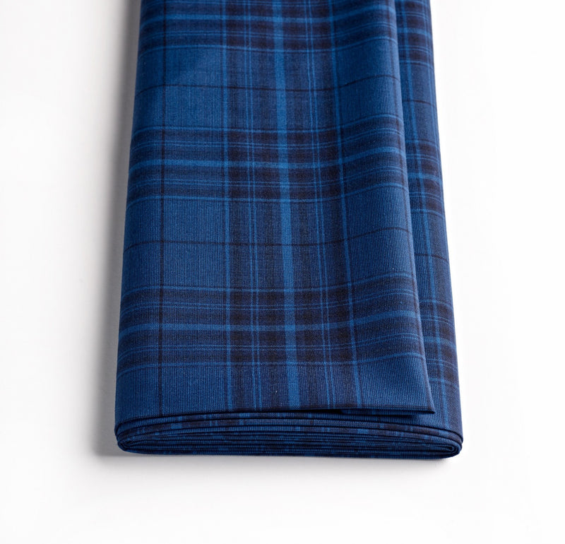 The Royal Blue Holcombe Check