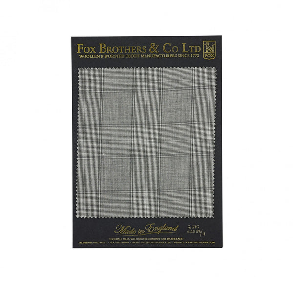 The Soft Grey Budville Check