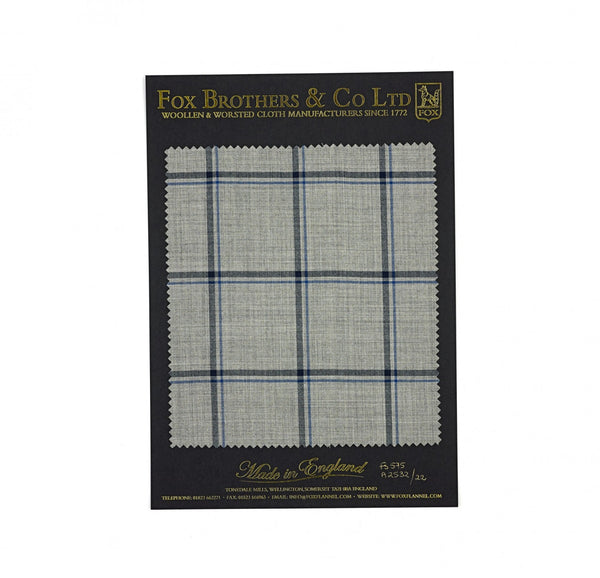 The Soft Grey Double Windowpane