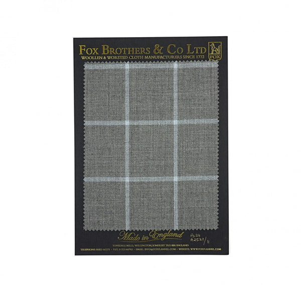 The Soft Grey Thorne Windowpane