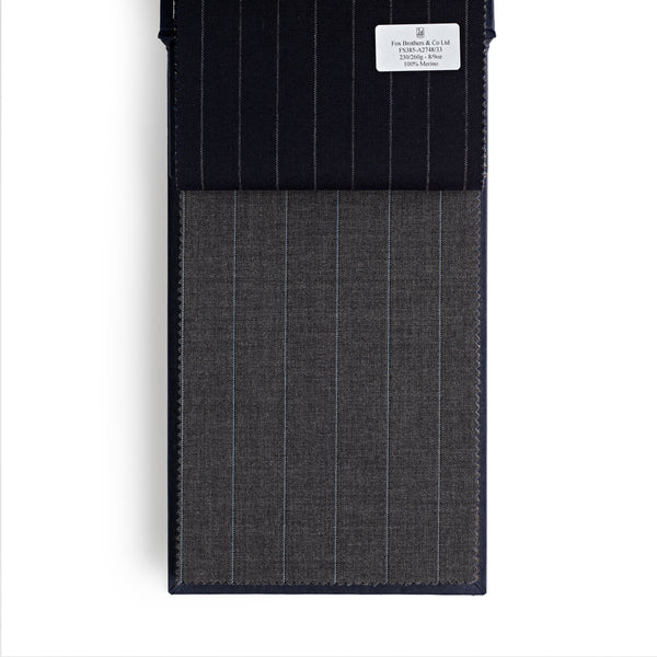 Golden Fox Grey Tricolour Pinstripe