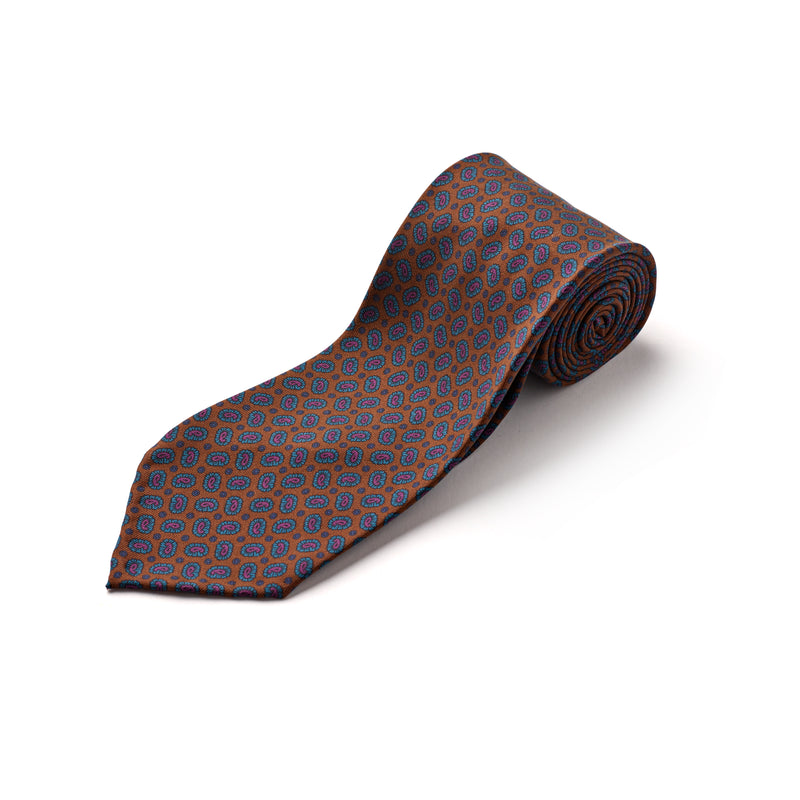 3-fold-silk-handmade-F.Marino-Napoli-tie-exclusive-burnished-paisley-The-Merchant-Fox-Luxury-Mensaccessories