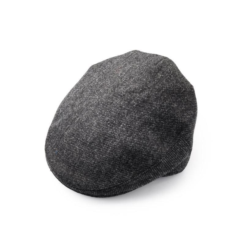 Fox Tweed Classic Cap In Charcoal Twill