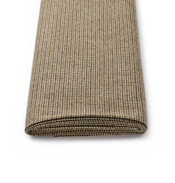 Olive-Ecru-Puppytooth-Limited-Edition-Fox-Brothers-Fox-Flannel-Woven-In-Somerset-Bespoke-Tailoring-Cloth