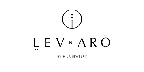 LEVnARO | תכשיטי יהלומים | LOGO | Lev and Aro | By Hila Jewelry