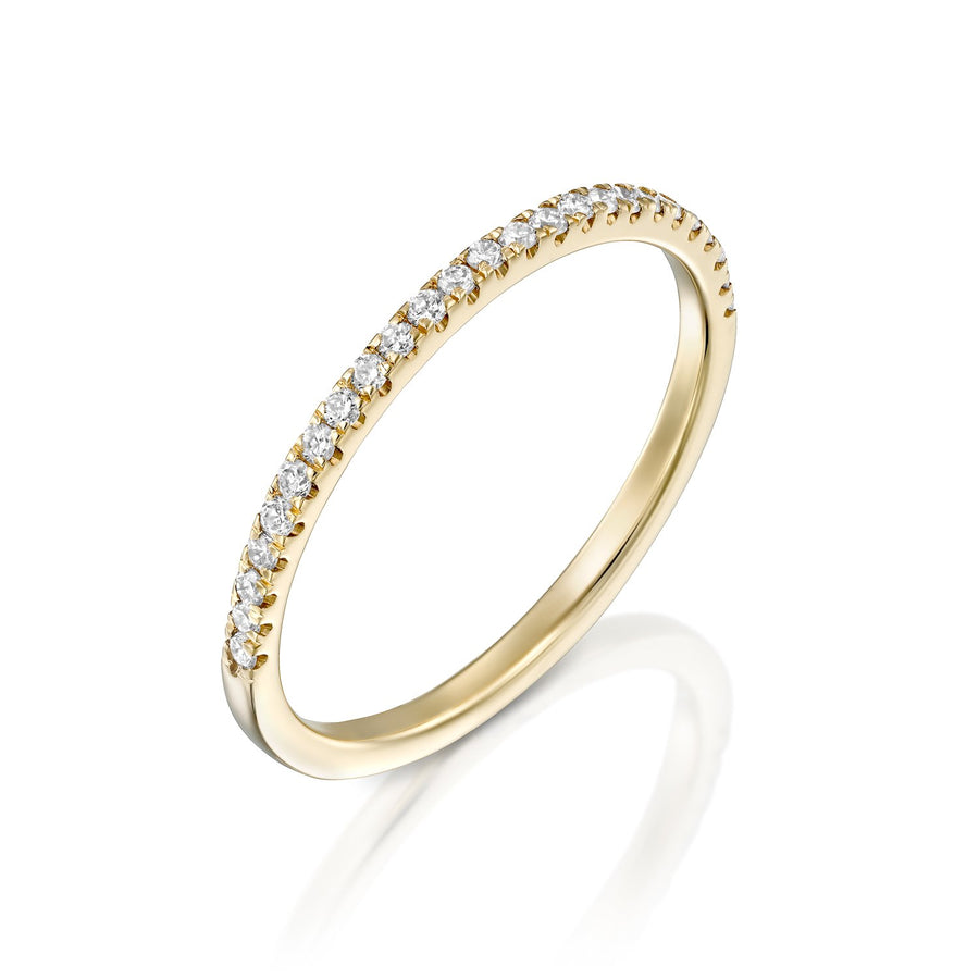 Eternity white ring