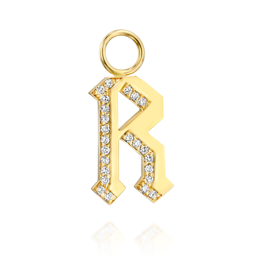 Letter pendant - small